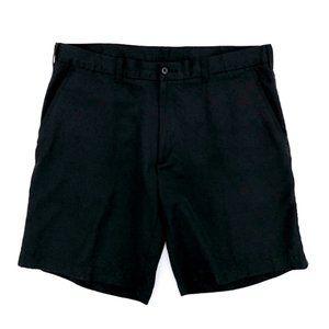 PGA Men's Casual Outdoor Black Golf Shorts 38